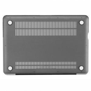 "Чехол-накладка для Apple MacBook Pro 13"" - Kuzy Rubberized Hard Case серый"