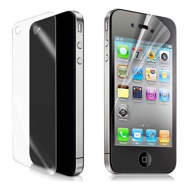 Набор защитных пленок для Apple iPhone 4/4S - MobikinGroup глянцевый