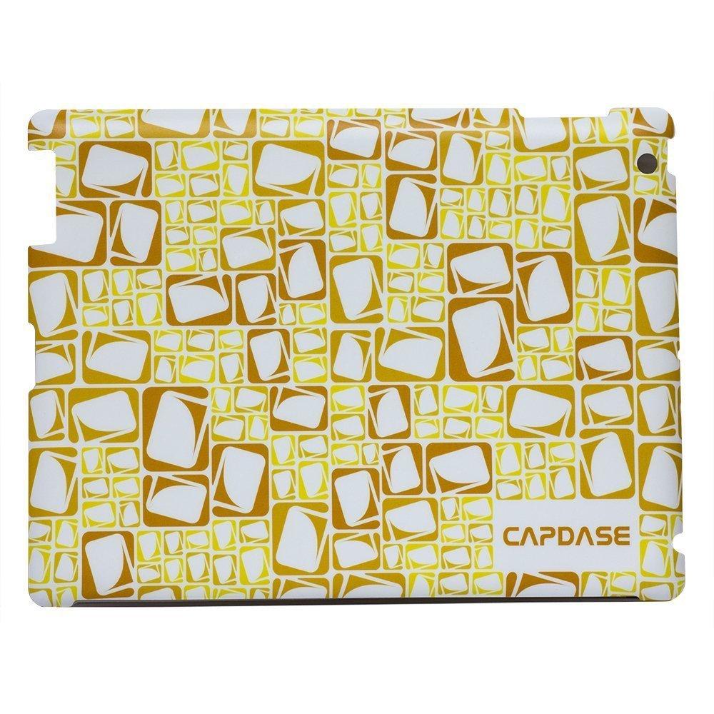 Наклейка для Apple iPad 2/3/4 - Capdase ProSkin Logogram желтая