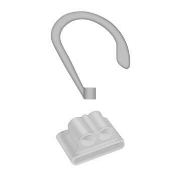 Набор креплений Coteetci Sports Wrist Fit серый для Apple AirPods