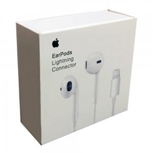 Наушники EarPods with Lightning Connector (MMTN2) белые
