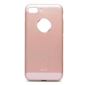 Защитный чехол Moshi iGlaze Armour розовое золото для iPhone 8 Plus/7 Plus
