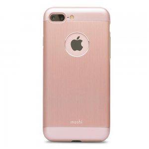 Защитный чехол Moshi iGlaze Armour розовое золото для iPhone 7 Plus