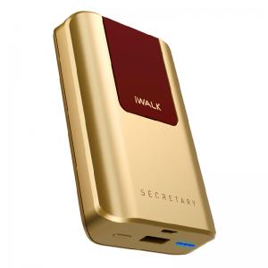 Внешний аккумулятор iWalk Secretary 10,000mAh золотой
