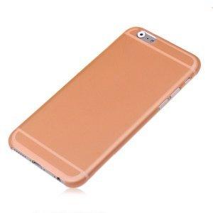 Чехол-накладка для Apple iPhone 6 Plus - Ultrathin Frosted оранжевый