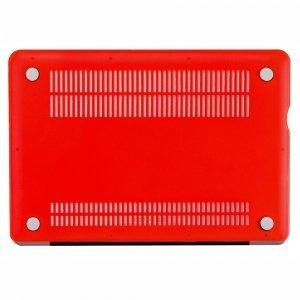 "Чехол-накладка для Apple MacBook Pro 15"" - Kuzy Rubberized Hard Case красный"