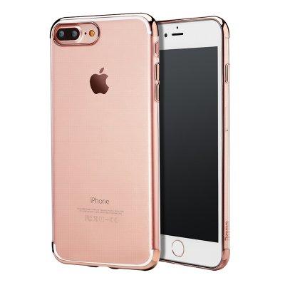 Силиконовый чехол Baseus Shining розовый для iPhone 8 Plus/7 Plus