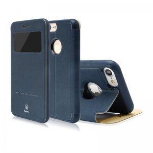 Чехол (книжка) с подставкой Baseus Simple синий для iPhone 8/7/SE 2020