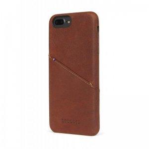 Кожаный чехол Decoded Back Cover коричневый для iPhone 8 Plus/7 Plus