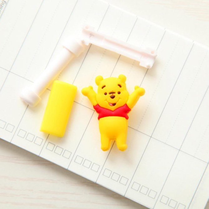 Защитная клипса для кабелей Winnie The Pooh