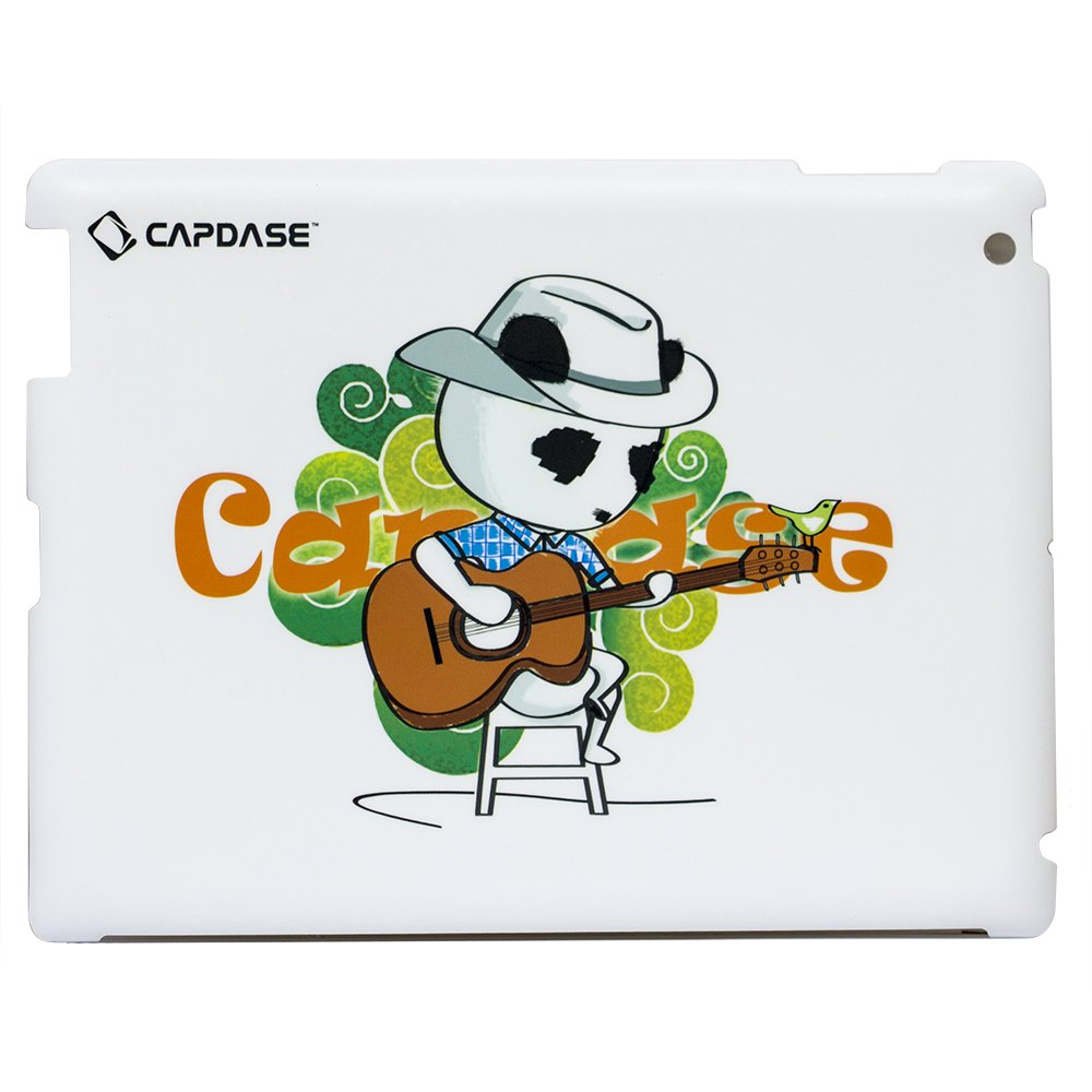 Наклейка для Apple iPad 2/3/4 - Capdase ProSkin Don Country белая