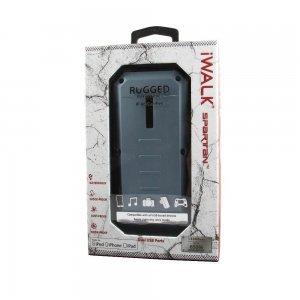 Внешний аккумулятор IWALK Extreme Spartan 13000 mAh, 2 USB, 2.4A/1.0A синий
