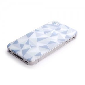 Чехол-накладка для Apple iPhone 4/4S - ROCK Azure Stone Series разноцветный