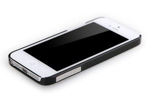 Пластиковый чехол ROCK Ethereal черный для iPhone 5/5S/SE