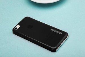 Пластиковый чехол ROCK Ethereal черный для iPhone 5C