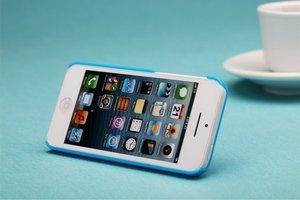 Пластиковый чехол ROCK Ethereal голубой для iPhone 5C