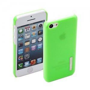 Пластиковый чехол ROCK Ethereal зеленый для iPhone 5C