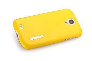 Чехол-накладка для SamsungGalaxyS4 - ROCK Ethereal желтый