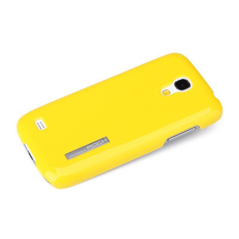 Чехол-накладка для SamsungGalaxyS4 mini - ROCK Ethereal series желтый