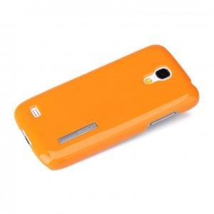 Чехол-накладка для SamsungGalaxyS4 mini - ROCK Ethereal series оранжевый