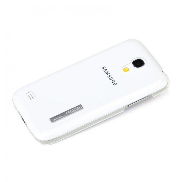 Чехол-накладка для SamsungGalaxyS4 mini - ROCK Ethereal series прозрачный