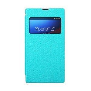 Чехол-книжка для Sony Xperia Z1 - ROCK Excel голубой