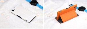 Чехол-книжка для Sony Xperia Z1 - ROCK Excel белый