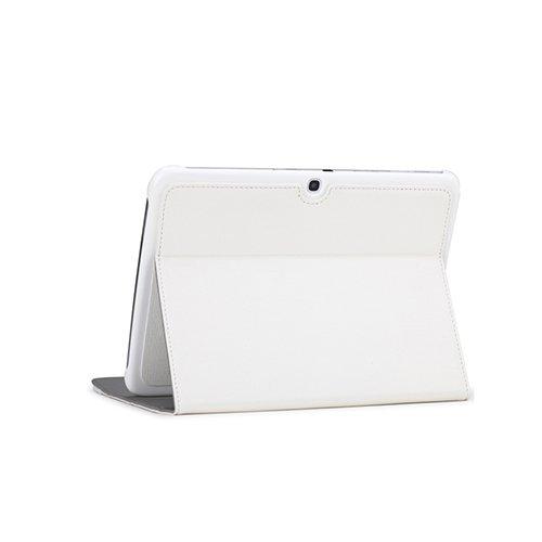 Чехол-книжка для Samsung Galaxy Tab 3 P5200 - ROCK Flexible series белый
