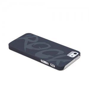 Чехол-накладка для Apple iPhone 5/5S - ROCK Impress черный