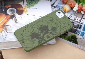 Чехол-накладка для Apple iPhone 5/5S - ROCK Impress зеленый