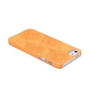 Чехол-накладка для Apple iPhone 5/5S - ROCK Impress оранжевый