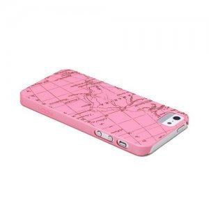 Чехол-накладка для Apple iPhone 5/5S - ROCK Impress розовый