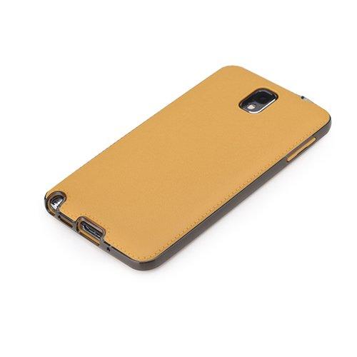 Чехол-накладка для Samsung Galaxy Note 3 - ROCK Joyful Series желтый