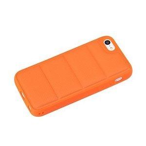 Чехол-накладка для Apple iPhone 5C - ROCK Matts оранжевый