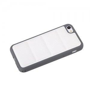3D чехол ROCK Matts белый + серый для iPhone 5C