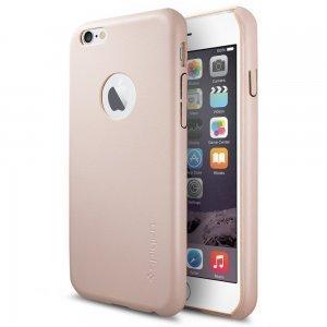 Чехол-накладка для Apple iPhone 6 - SGP Leather Fit розовый