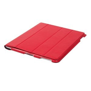 Чехол-книжка для Apple iPad 4/3/2 - Dublon Leatherworks Smart Perfect красный