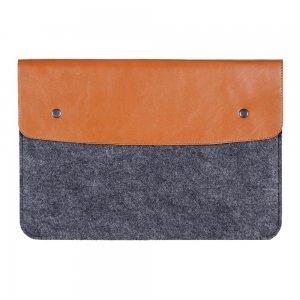 """Чехол-конверт Gmakin GM03 на кнопках коричневый для MacBook Air 13""""/Pro 13""""/ Pro 13"""" Retina"""