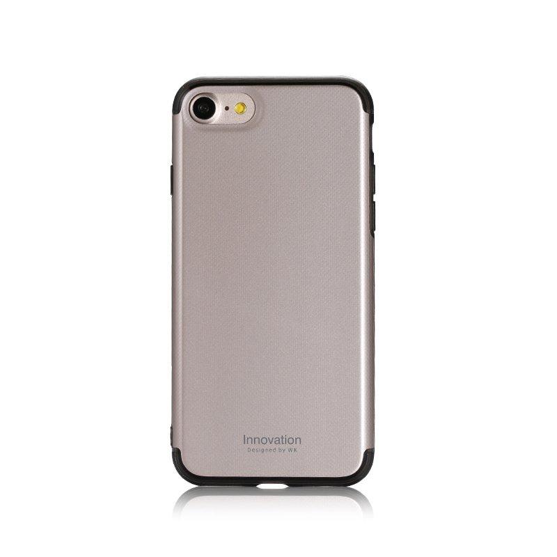 Пластиковый чехол WK Roxy золотой для iPhone 8/7