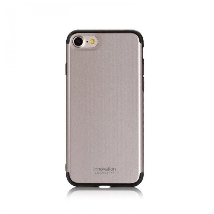 Пластиковый чехол WK Roxy золотой для iPhone 8/7/SE 2020