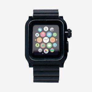 Чехол-ремешок для Apple Watch 42мм - LunaTik EPIK 2 LINK черный
