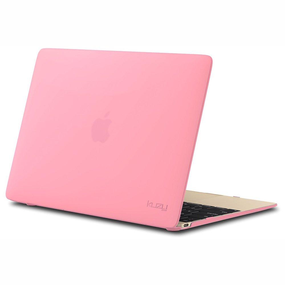 "Чехол-накладка для Apple MacBook 12"" - Kuzy Rubberized Hard Case розовый"