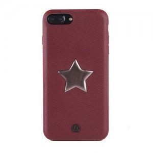 Чехол с рисунком Luna Aristo Astro Maroon красный для iPhone 7 Plus/8 Plus
