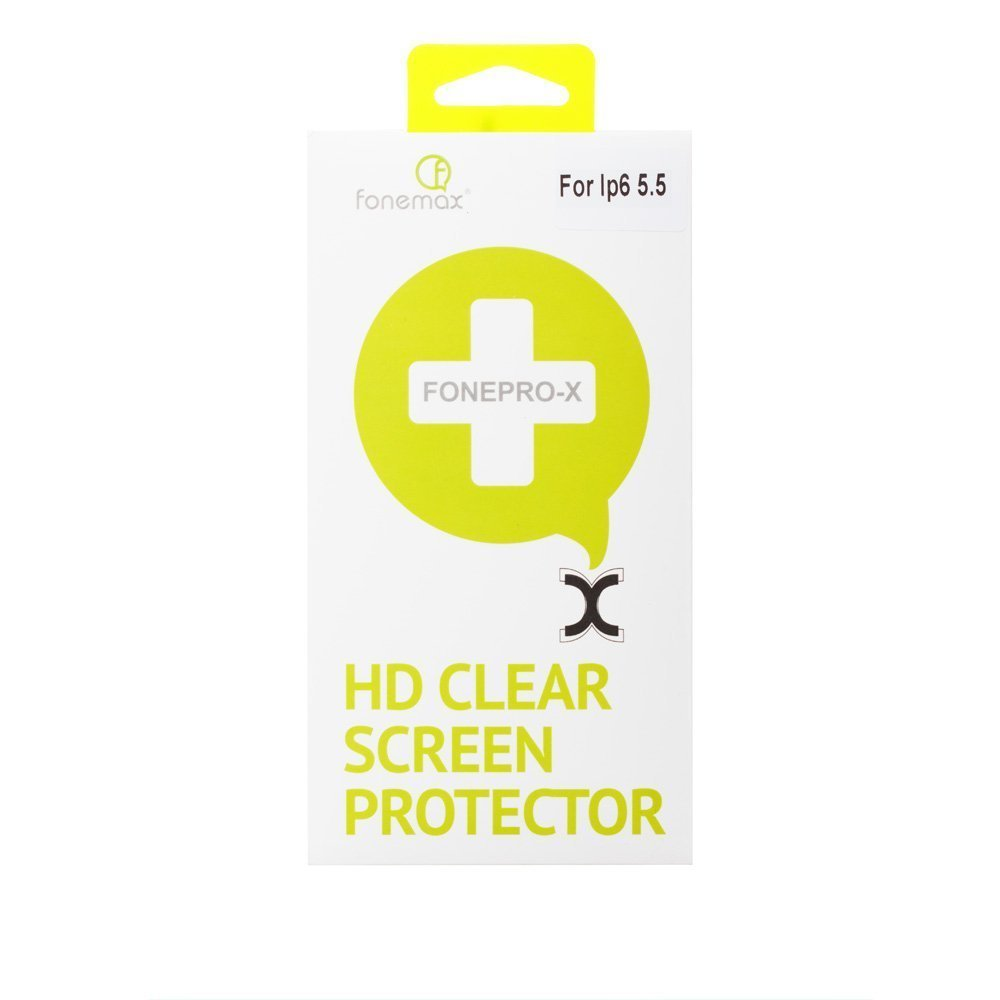 Защитная пленка для Apple iPhone 6 Plus - Fonemax Fonepro-X HD глянцевая