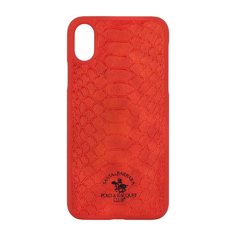 Чехол Polo Knight красный для iPhone X/XS