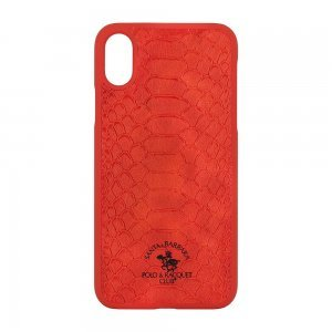 Чехол Polo Knight красный для iPhone X