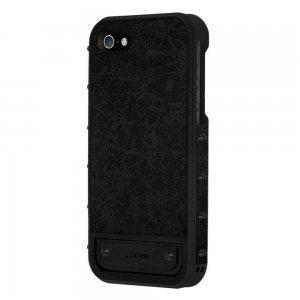 Чехол-накладка для Apple iPhone 5S/5 - Lucien Elements Le Baron Leather чёрный