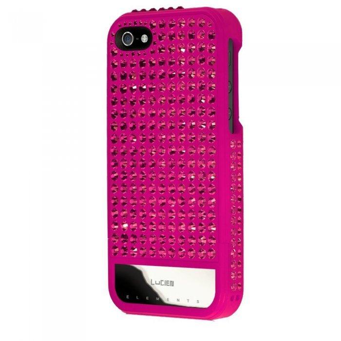 Чехол-накладка для Apple iPhone 5S/5 - Lucien Elements Spectrums First Edition розовый