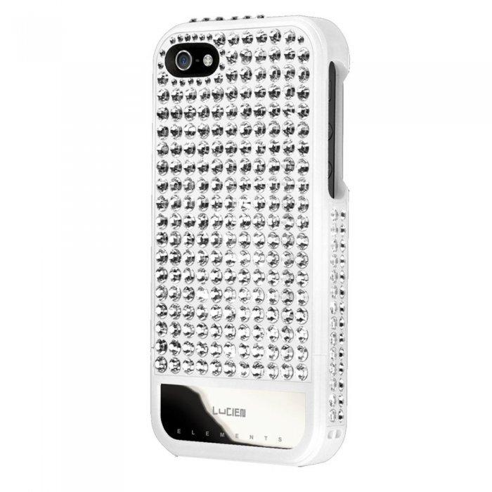 Чехол-накладка для Apple iPhone 5S/5 - Lucien Elements Spectrums First Edition белый