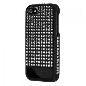 Чехол-накладка для Apple iPhone 5S/5 - Lucien Elements Vanilas Exclusive Selections Constellations чёрный